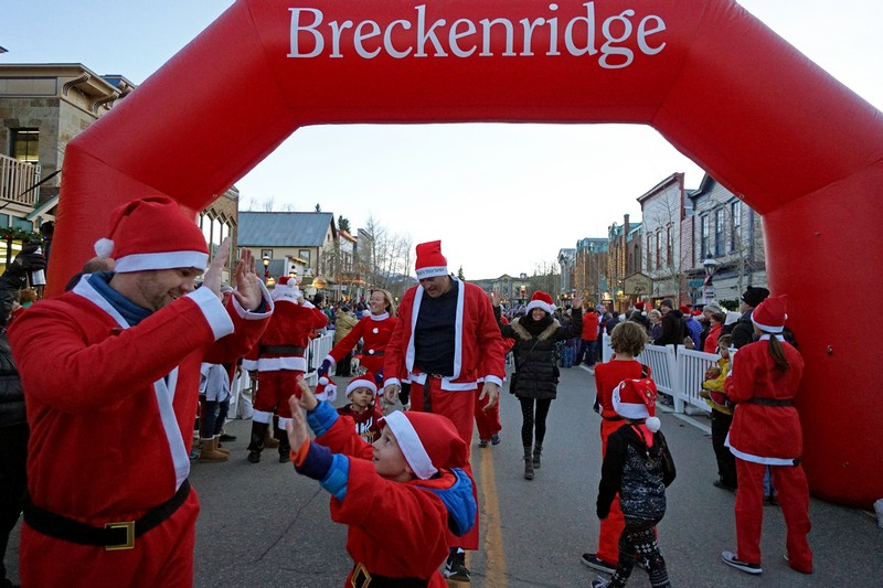 Breckenridge Race of the Santas