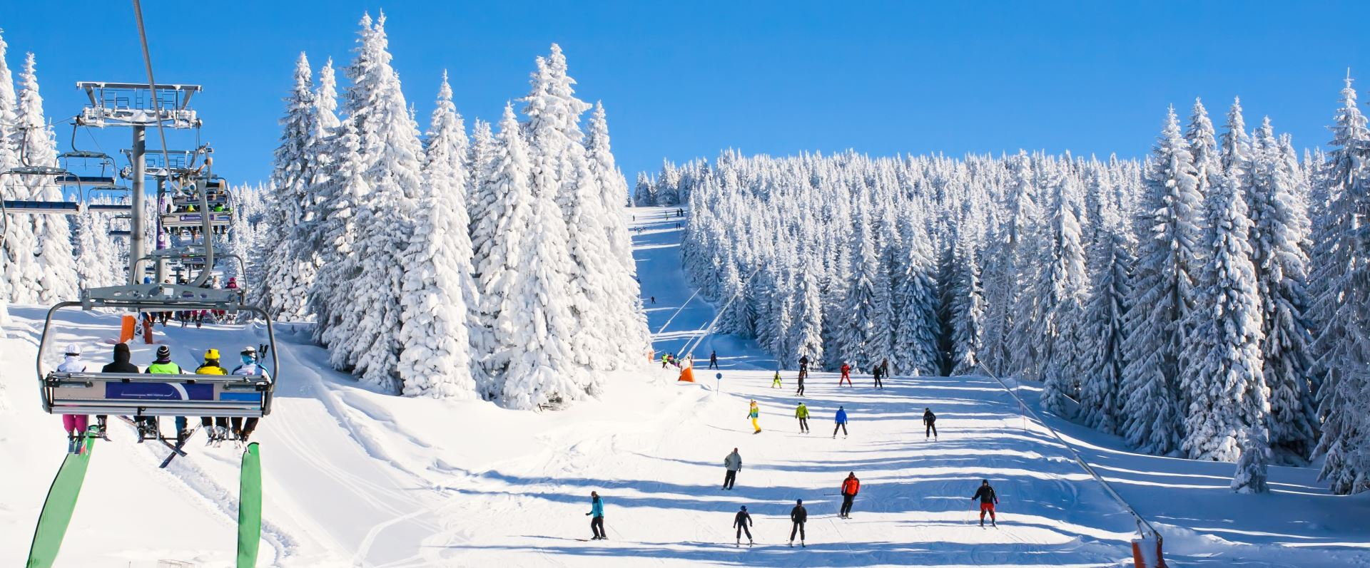 Keystone Resort Skiiers