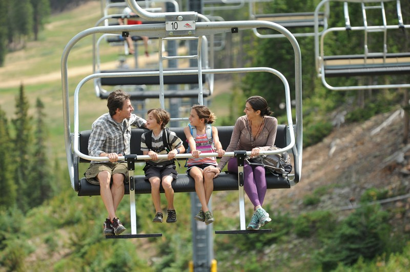 Scenic Chairlift Rides in Copper