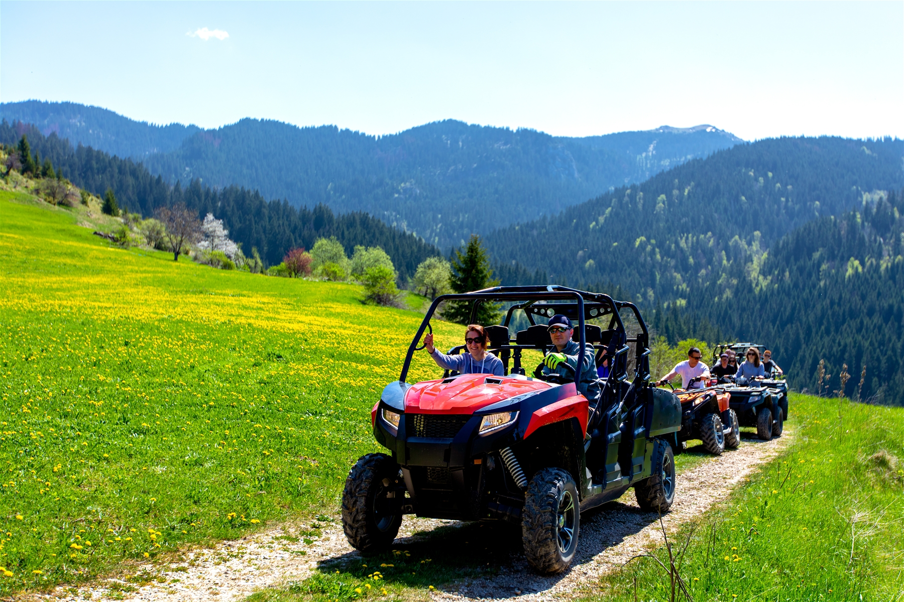 ATV Rentals Tours Summer Frisco