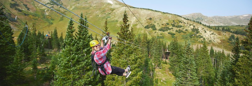Family Friendly Copper Mountain Activities - Zip Lining