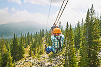 Zipline Summer Copper Mountain