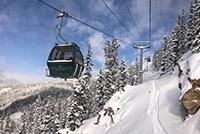 Gondola Rides Keystone Winter
