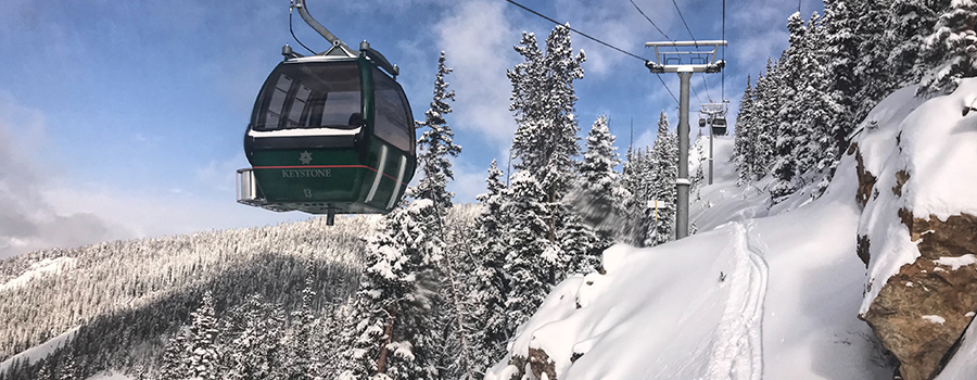 Keystone Ski Resort Outpost Gondola
