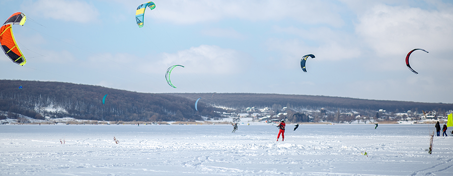 Frisco Snow Kiting
