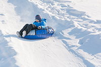 Snowtubing Copprt Mountain CO