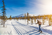 Nordic Skiing Breckenridge Winter